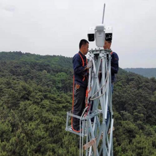 辽宁省铁岭市某部队森林防火监控项目